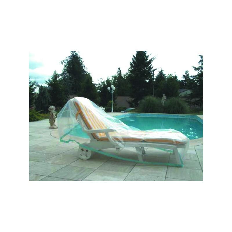 Housse de jardin plastique chaise longue - Bache pour chaise de jardin ...