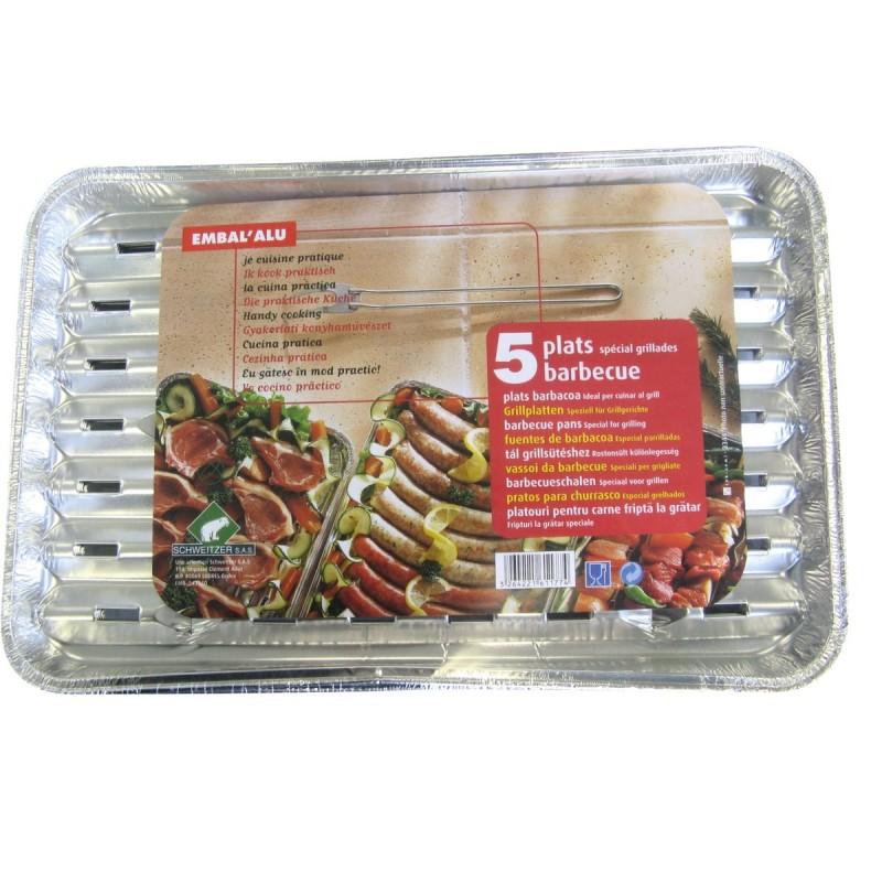 Plat barbecue aluminium