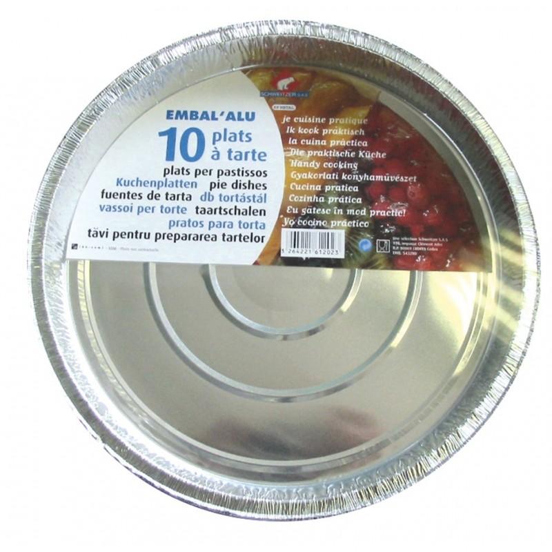 Plat à tarte aluminium
