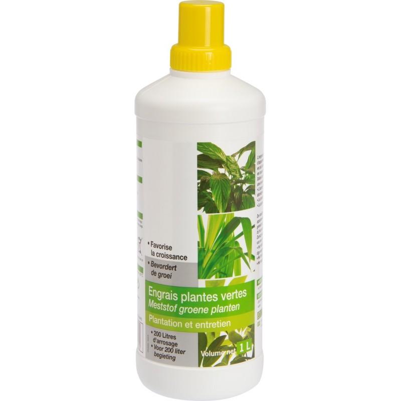 Engrais plantes vertes liquide