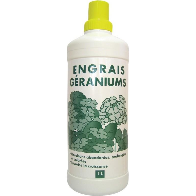 Engrais géraniums liquide