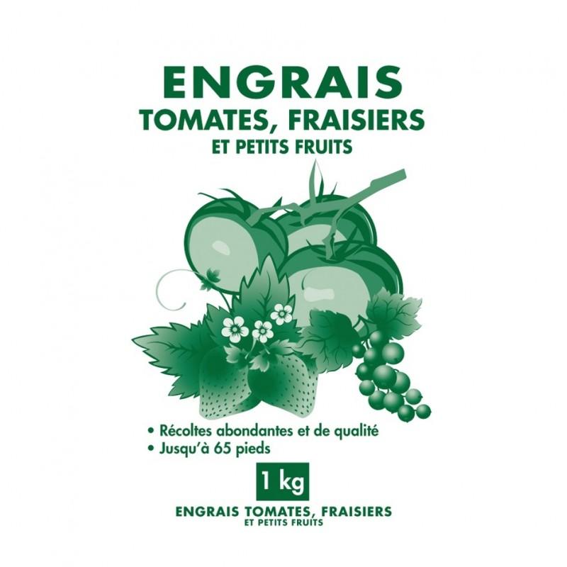 Engrais tomates et fraisiers granules