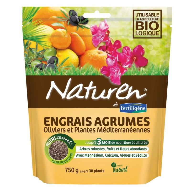 Engrais agrumes, plantes méditerranéennes