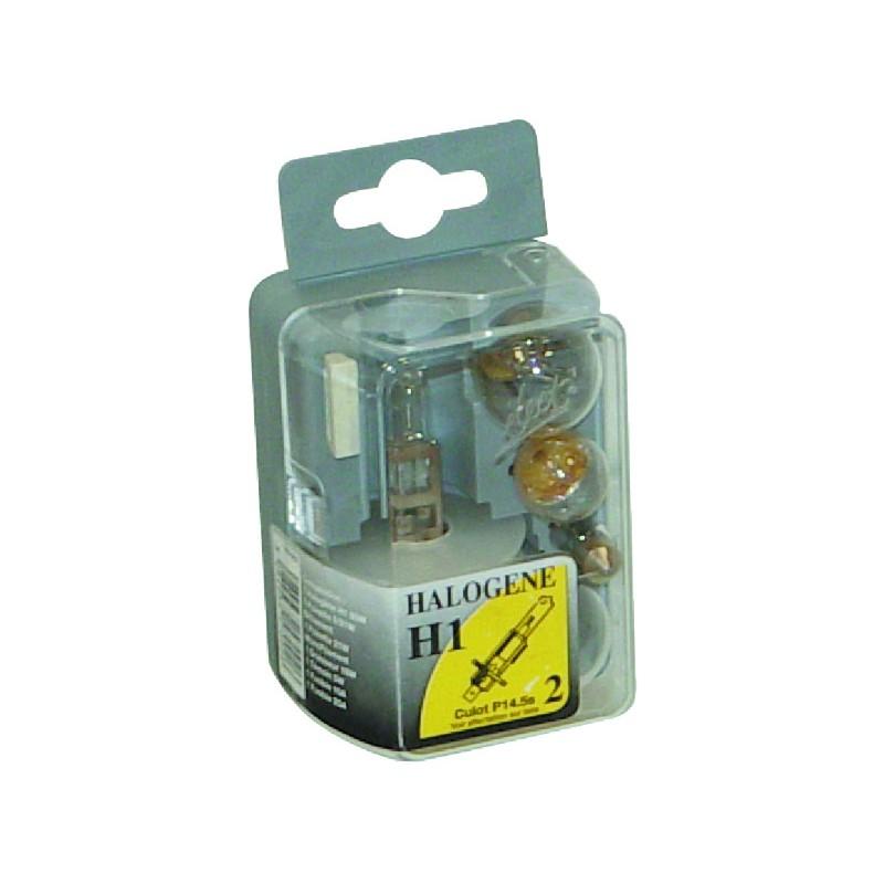 COFFRET AMPOULE HALOGENE H1 55W