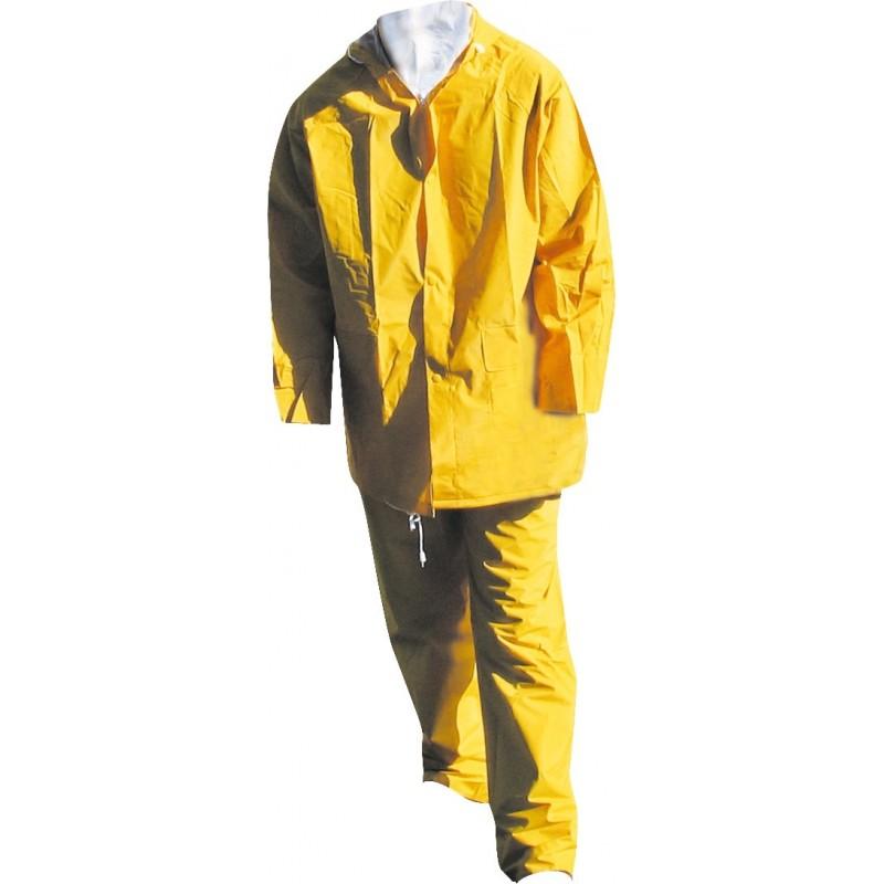 Ensemble de pluie jaune Lari