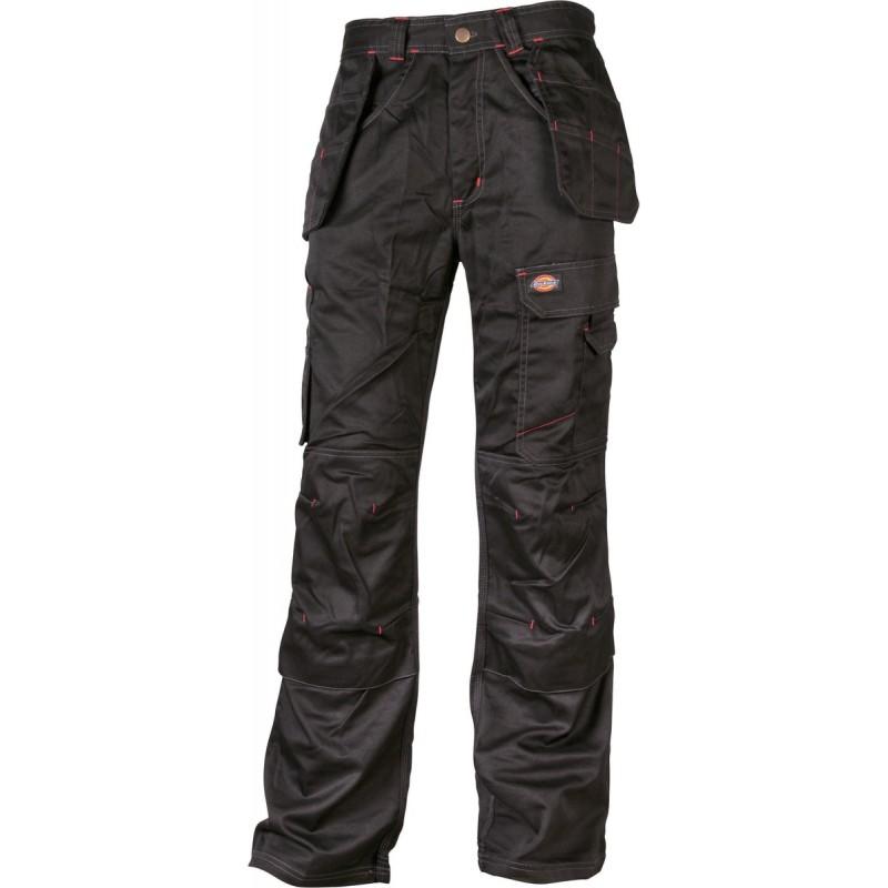 Pantalon de travail multipoches Redhawk Pro - Polyester / Coton - Noir