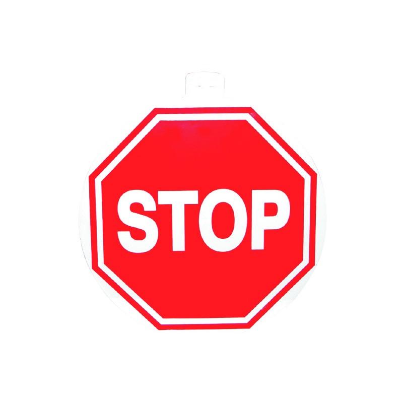 PANNEAU SIGNALETIQUE STOP