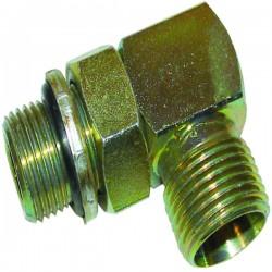 Coude Transmission hydraulique Mâle 3/8'' - 12 x 17 - Mâle 18x150 mm