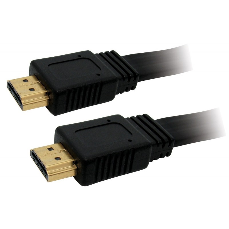 Cable HDMI / HDMI plat