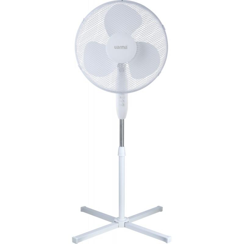 Ventilateur sur pied - 40 W - Blanc