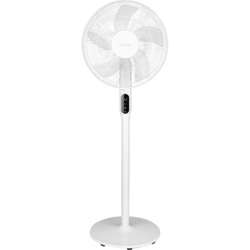 Ventilateur sur pied silencieux - Puissance 35 W - Blanc