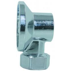 Applique avec écrou diamètre 12 mm chrome