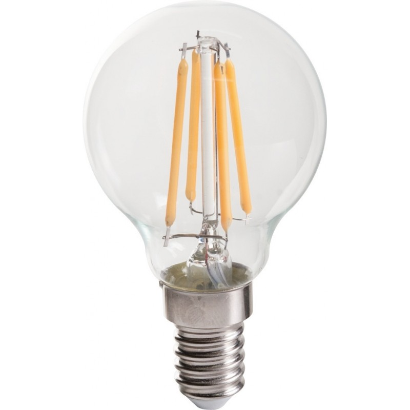 Ampoule LED spherique filament E14