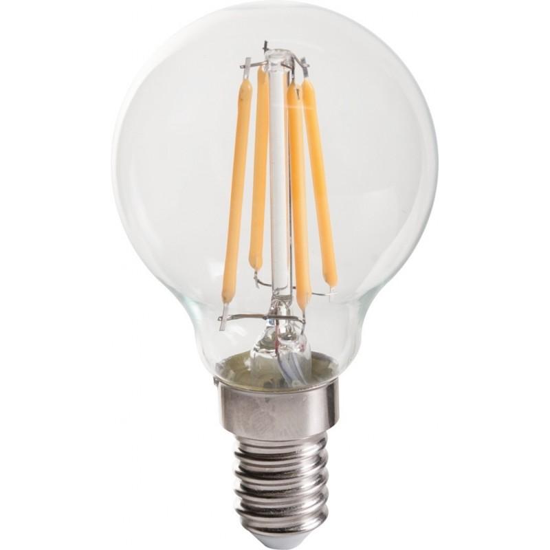 Ampoule LED spherique filament E14