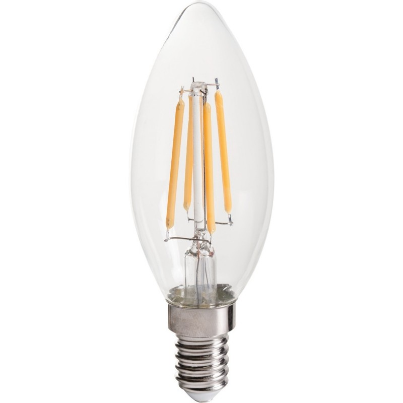 Ampoule LED flamme filament E14