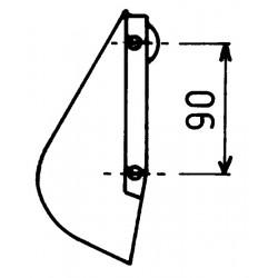 Soc de botte adaptable trainant Nodet bhx 195 e90