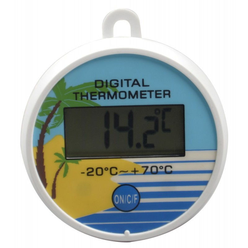 Thermometre digital de piscine