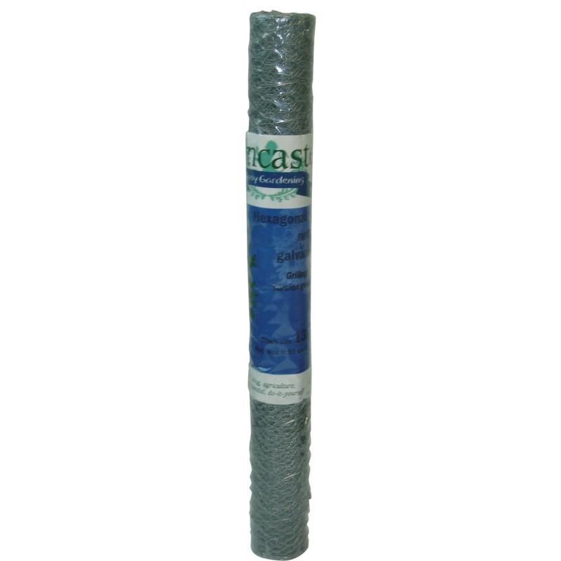 Grillage petite longueur triple torsion galvanise