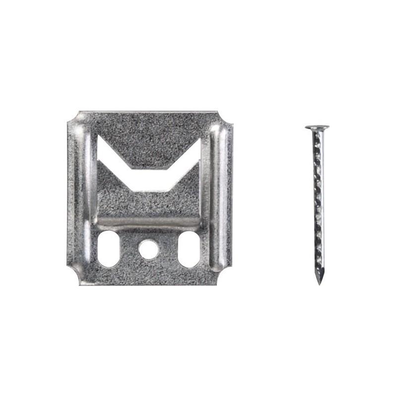Clip de fixation lambris - Jeu de 250 pieces