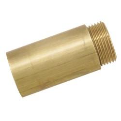 Rallonge de robinet laiton mâle-femelle 15x21 longueur 50 mm