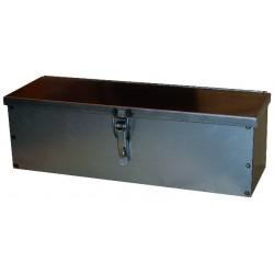 Caisse à outils 420x130x130 mm tôle pliée/soudée