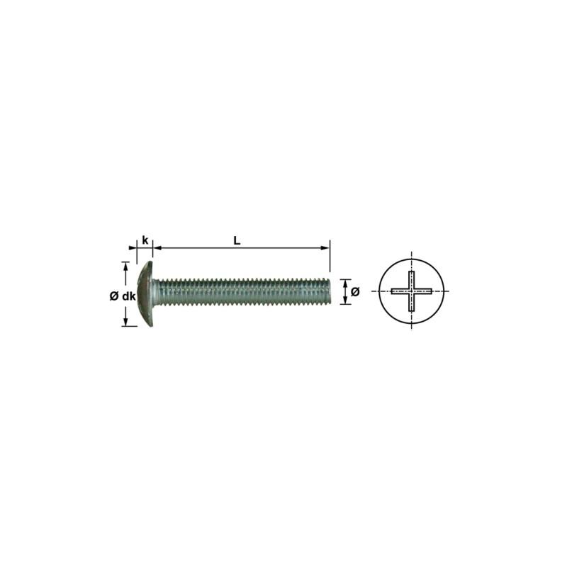 VIS POELIER 6X50 INOX A2 NFE27128 (50)