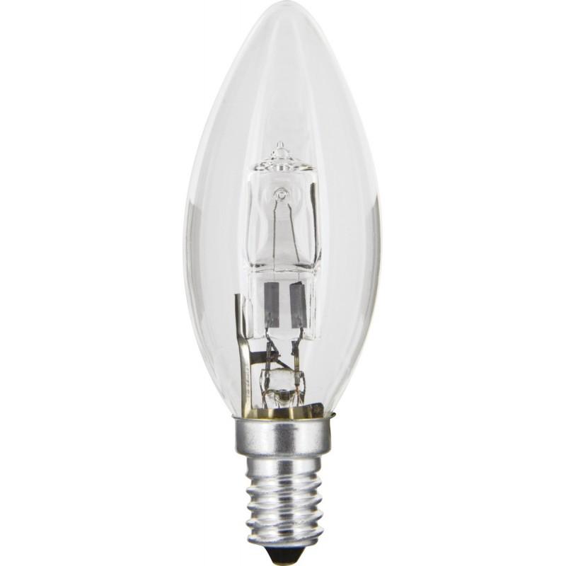 Ampoule eco halogene flamme E14