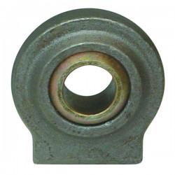 Rotule plate à souder diamètre 19 mm