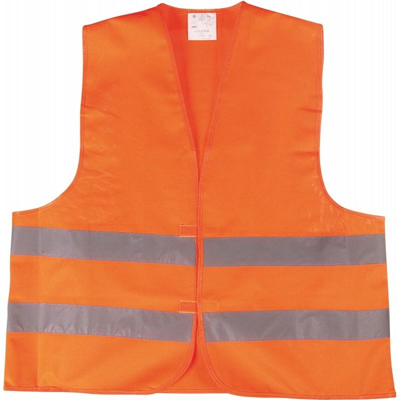 Gilet de signalisation orange