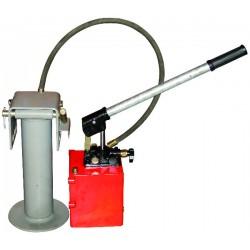 Kit béquille/pompe/flex.1.00m + levier import