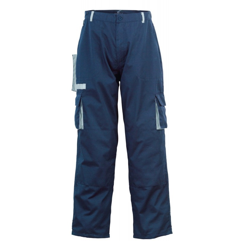Pantalon de travail bicolore Navy
