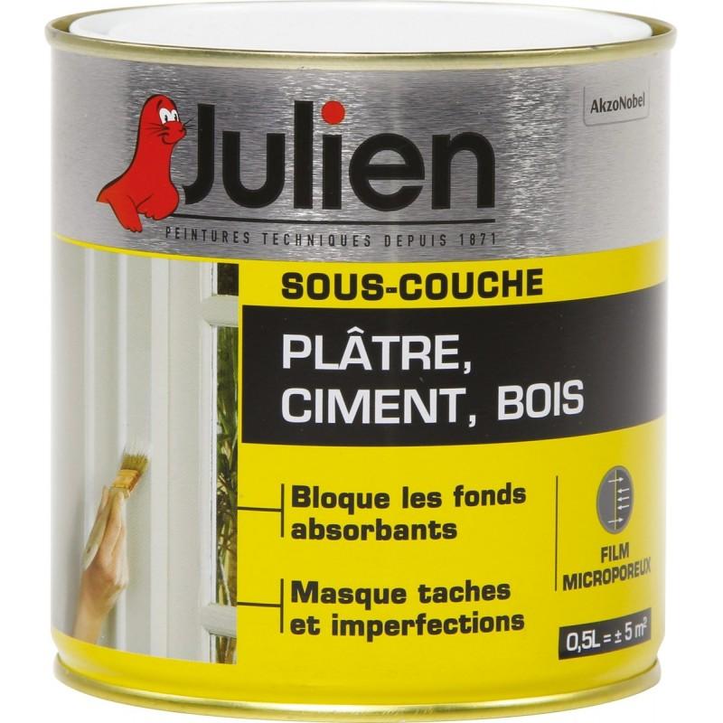 Sous-couche platre / ciment J4