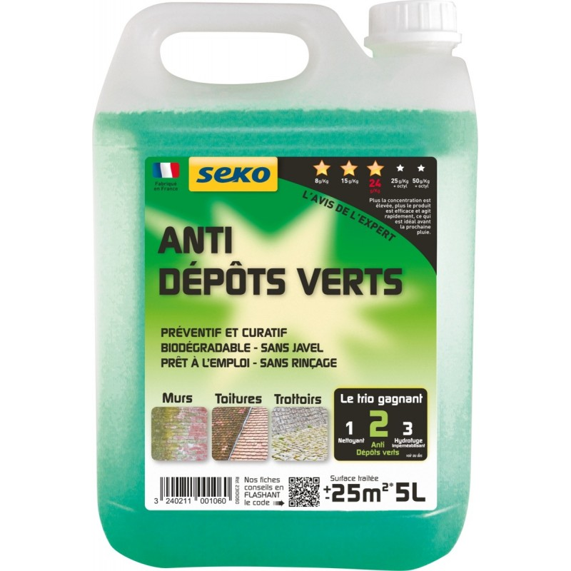 Anti-depot vert pret a l'emploi