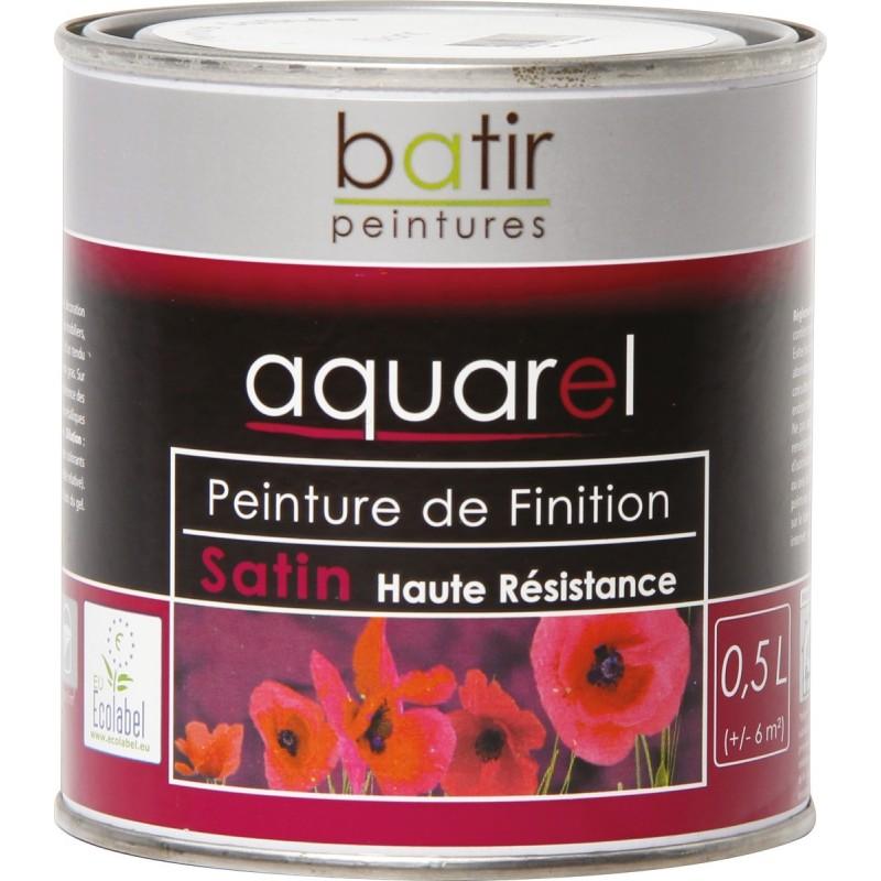 Peinture Aquarel laque Multi-supports satinee 0,5 l