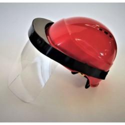 Visière de protection en Polypro pour casque de chantier