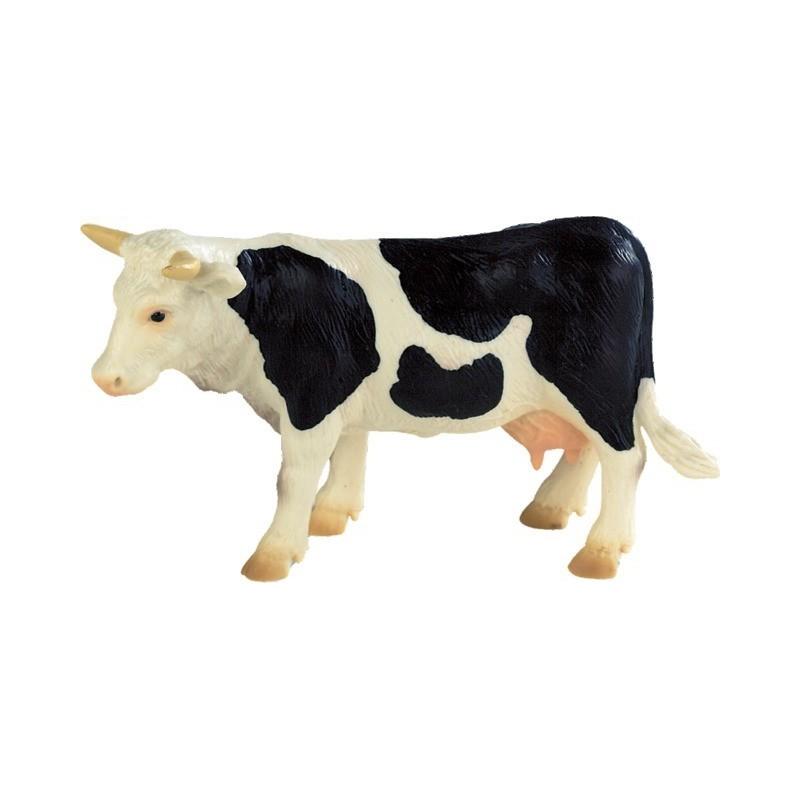 Vache noire et blanche B62609