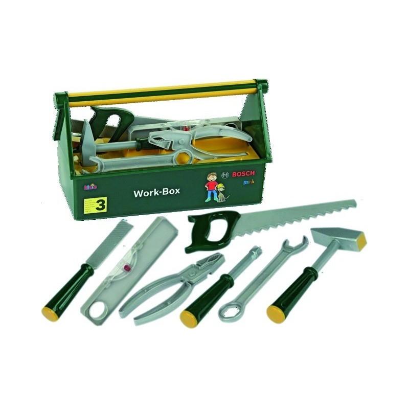 Caisse à outils 7 accessoires 8573