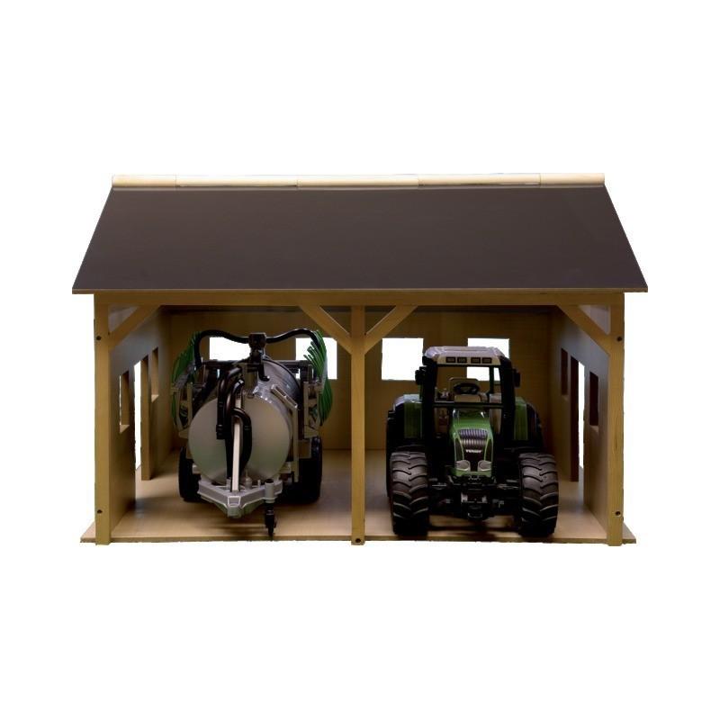 Hangar en bois pour deux tracteurs 610338