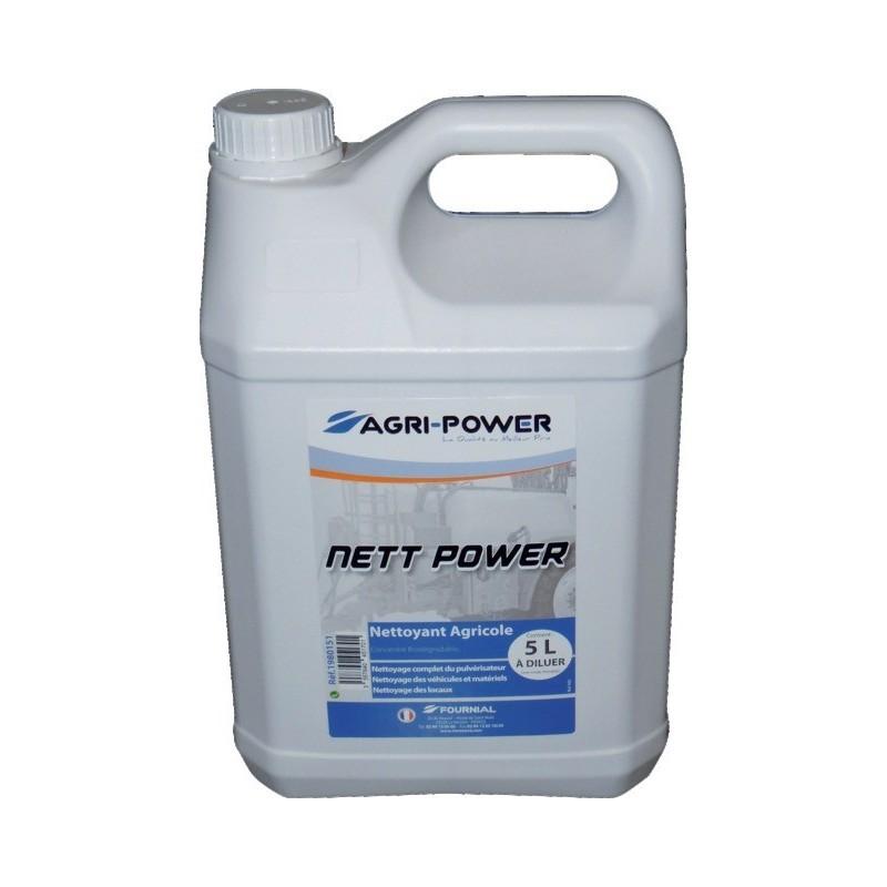 BIDON 5L NETTOYANT AGRICOLE NETT POWER