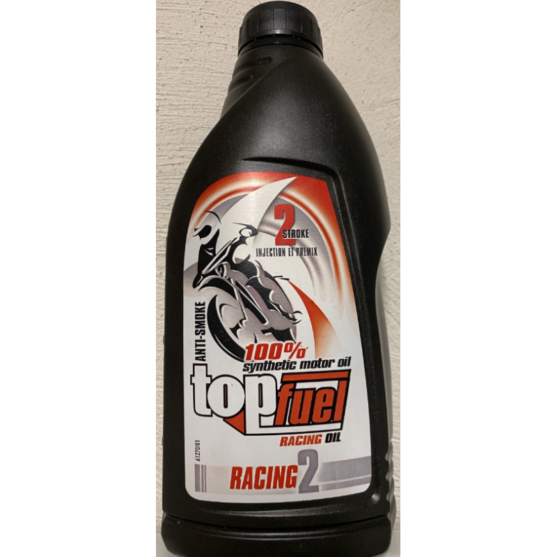 Top Fuel Racing huile synthétique 1L (Made in FRANCE)