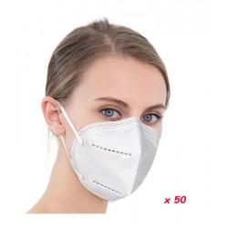 Masques FFP2 Norme CE EN149.2001+A1:2009 (Boite de 50)