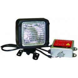 Phare de travail carré ip64 12v+kit conversion