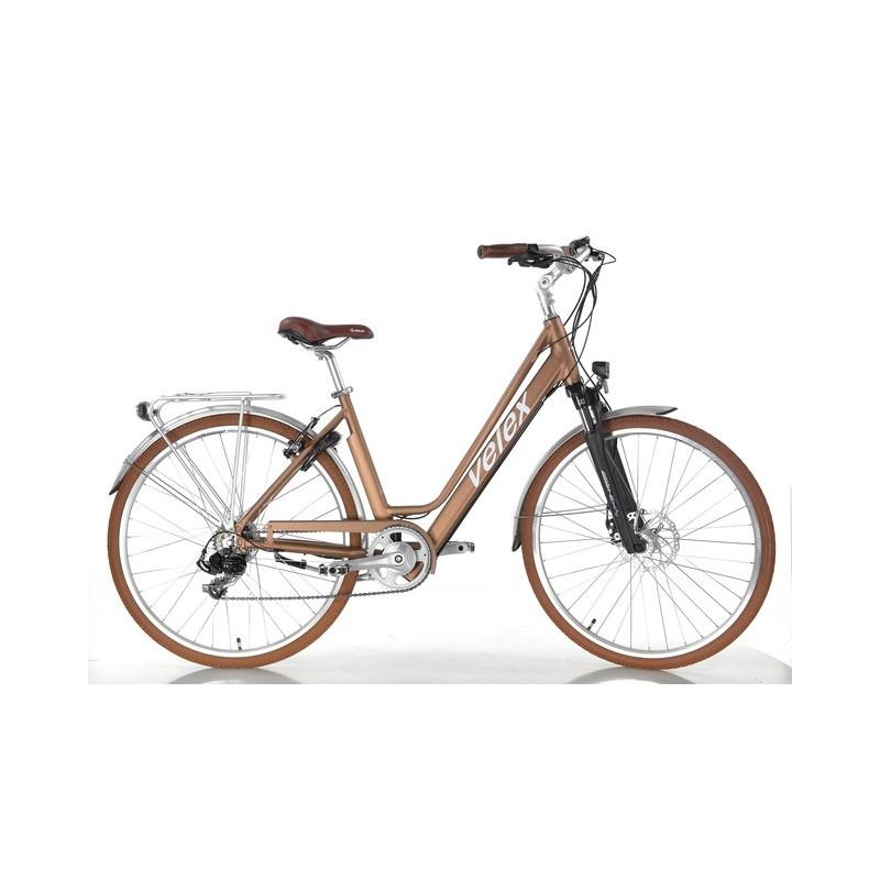 Vélo ville C1 cuivre 36V batterie intégrée