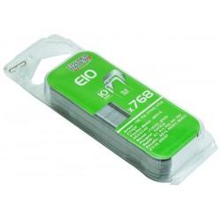Agrafes E10 10 mm pour agrafeuse mek5014m (boite de 768)