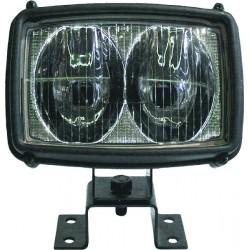 Projecteur double optique spot lge portée abs