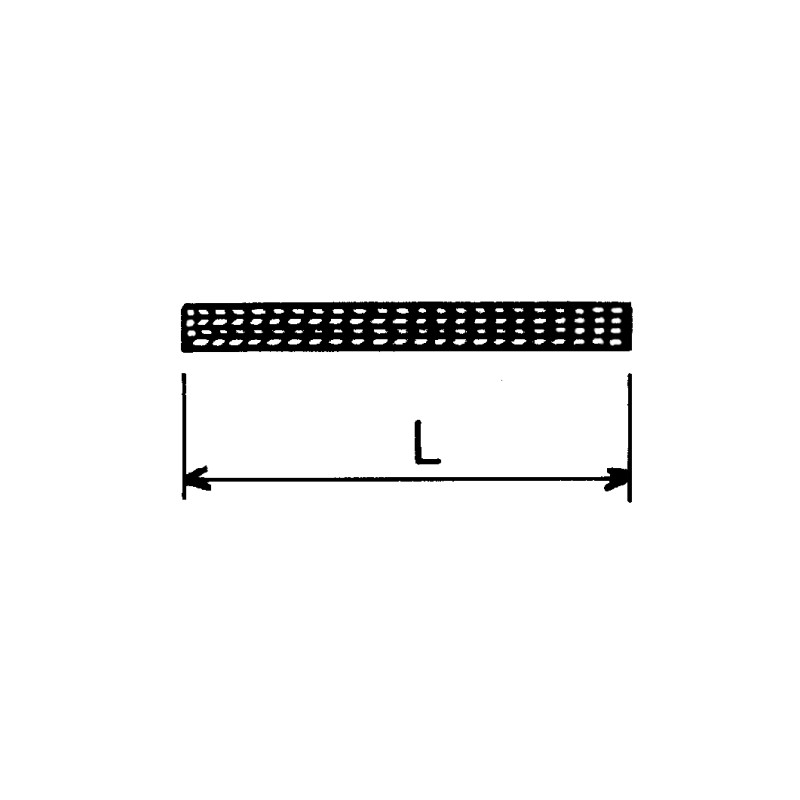 COURROIE PLATE TRACP804 80X4 PLIS LE METRE