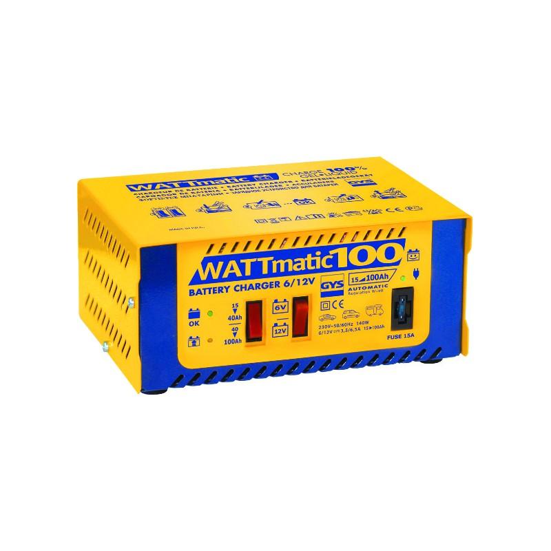 CHARGEUR BAT. WATTMATIC 100 15-100AH 6-12V