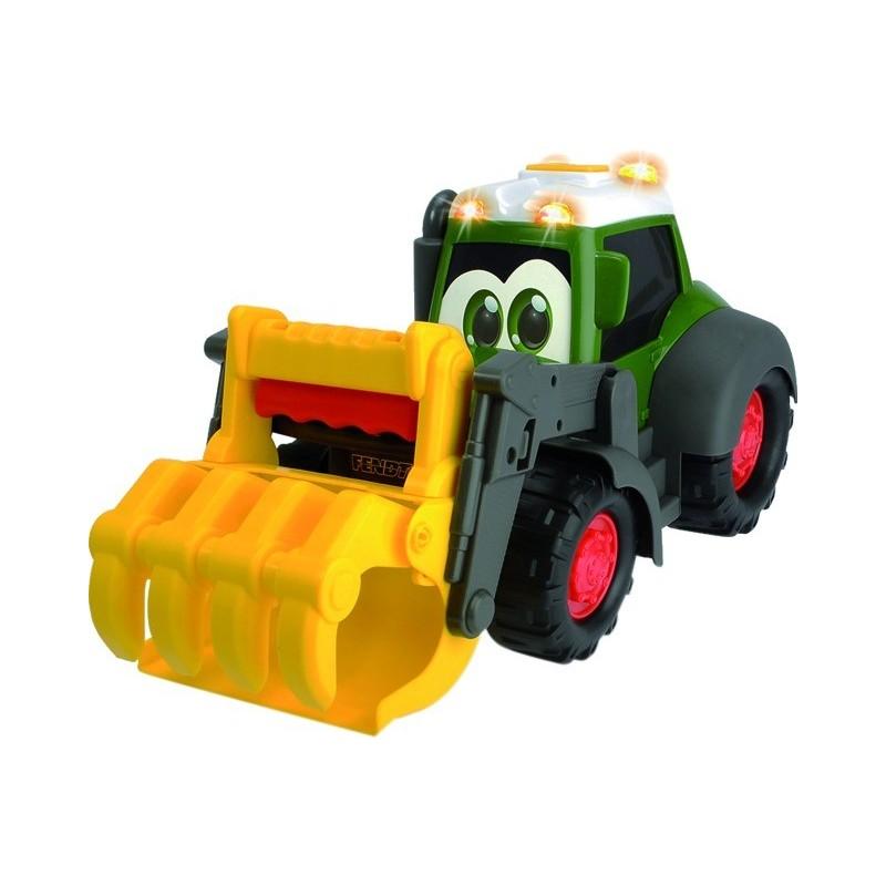 Tracteur Fendt fonction sonore et lumineuse avec chargeur