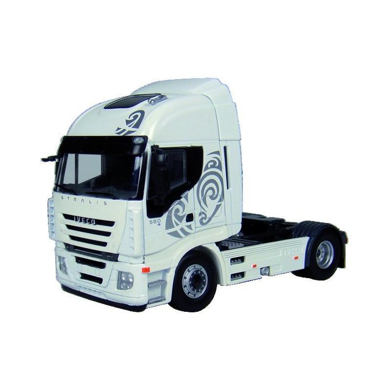 Camion Iveco Stralis Blanc