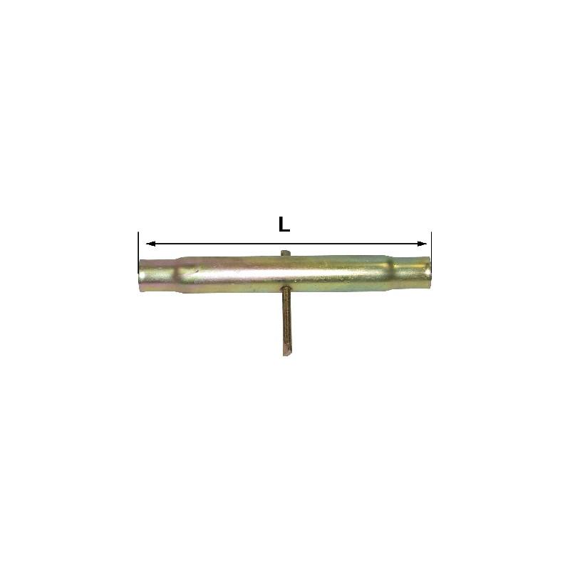 TUBE LG 210 M30X3 POUR BARRE DE POUSSEE